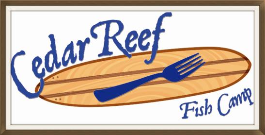 Sarasota manatee originals blog posts from seafood for Cedar reef fish camp menu